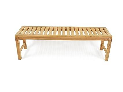 Awe Inspiring Amazon Com Windsors Genuine Grade A Teak 59 Oxford Lamtechconsult Wood Chair Design Ideas Lamtechconsultcom