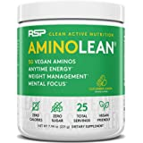 RSP Vegan AminoLean - All Natural Preworkout with Vegan BCAAs, All-In-One Amino Energy, Weight Management, Recovery, and…