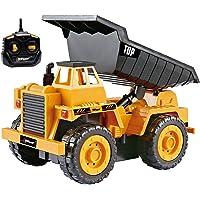 Top Race Camiones de construcción con Control Remoto
