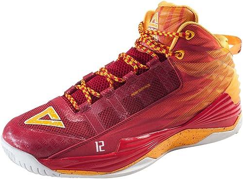 Peak Baloncesto Shoe Dwight Howard DH1 Red/Naranja Yellow (e62003 ...