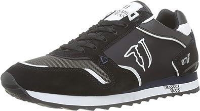 Trussardi Jeans Runner, Zapatillas de Gimnasia para Hombre: Amazon.es: Zapatos y complementos