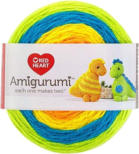 Surtido Amigurumi lana 10 knäuel A. 10 g, 100% algodón, hilo ... | 517x466