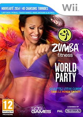83b03740f2e Zumba World Party + ceinture  Nintendo Wii  Amazon.fr  Jeux vidéo