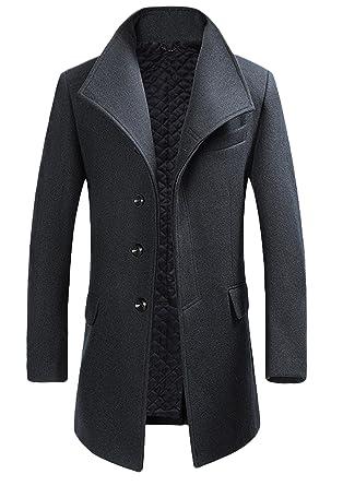 Manteau long classique homme