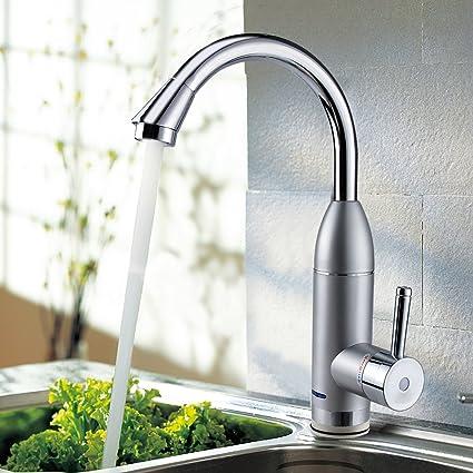 vanyda 220 V instantánea baño eléctrico calentador de agua bajo entrada agua caliente grifo – grifo