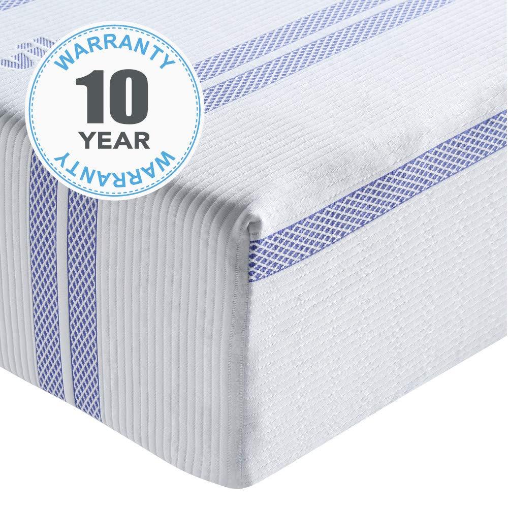 Twin Classic Brands Vibe 12 Inch Gel Memory Foam Mattress