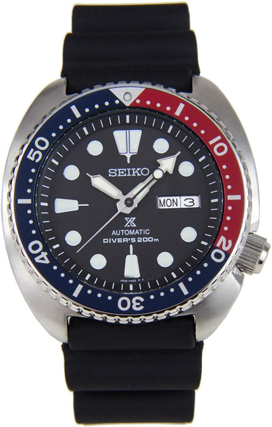 Seiko Men's Analogue Automatic Watch with Plastic Strap – SRP779K1
