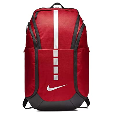 580d3d1754 Amazon.com  Nike Hoops Elite Hoops Pro Basketball Backpack University Red  Black Metallic Cool Grey