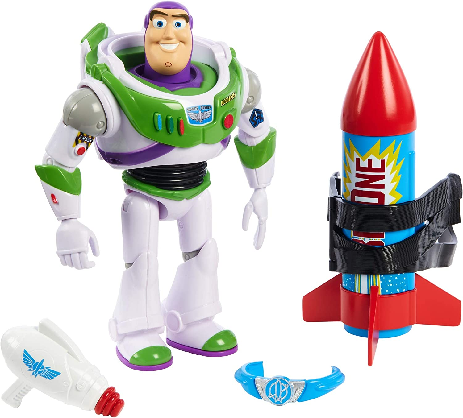 Toy Story Holiday Edition Red Buzz Lightyear Custom Printed Mini figure