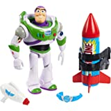 Toy Story Disney and Pixar 25th Anniversary Buzz Lightyear Figure, Multi, Model:GJH49