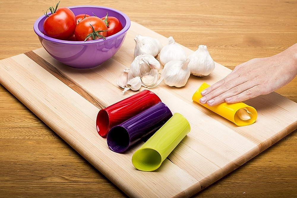 silicone garlic peeler on amazon