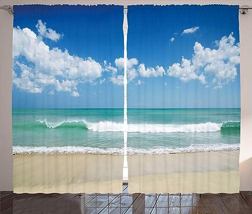 Ambesonne Modern Curtain
