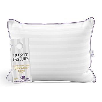 Amazon.com: La almohada original de la reina Ana. Almohada ...