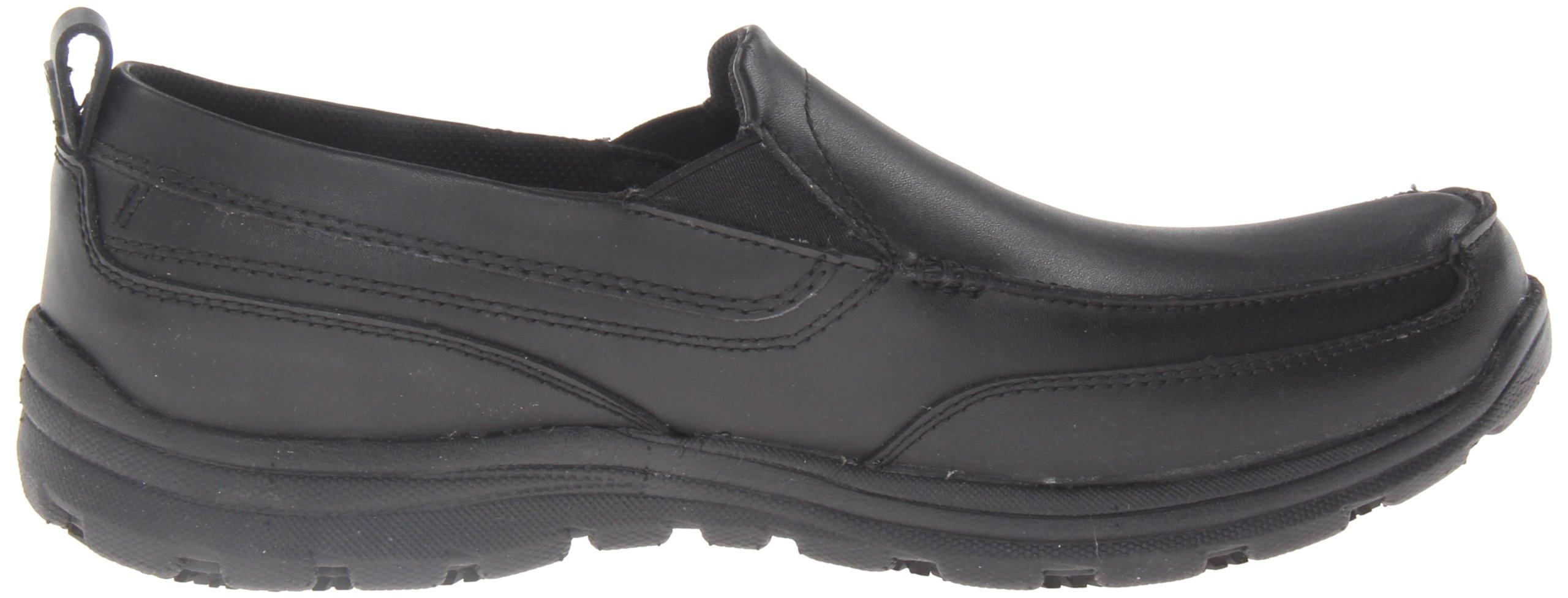 Skechers for Work Men's Hobbes Relaxed Fit Slip Resistant Work Shoe, Black, 11.5 M US by Skechers (Image #6)