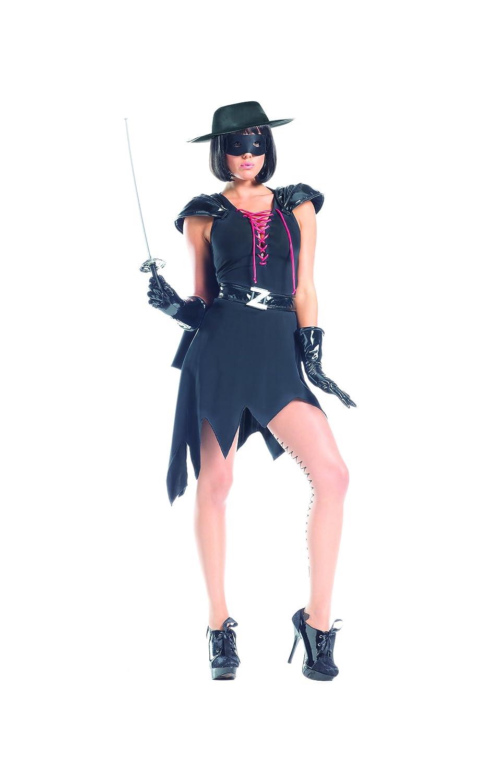 Amazon.com: Adult Women's 8 Piece Sexy Spanish Lady Zorro Dress ...