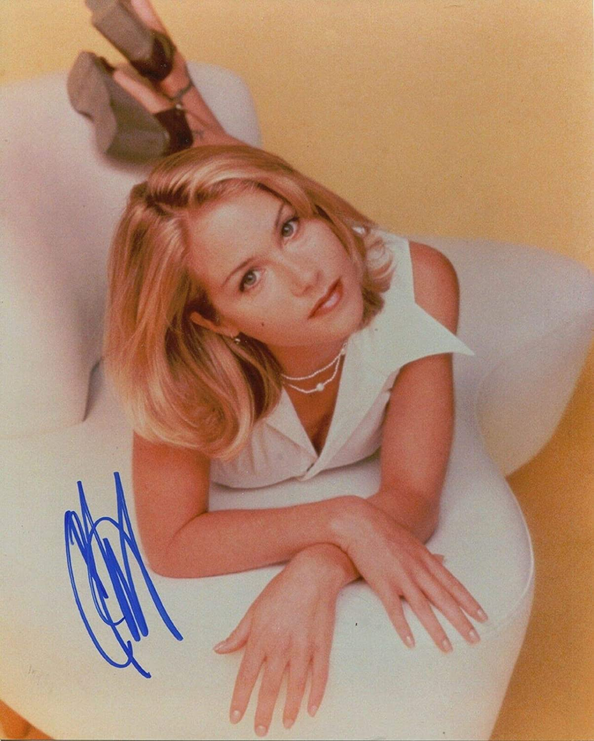 Christina Applegate Signed Married With Children Ron Burgundy ...