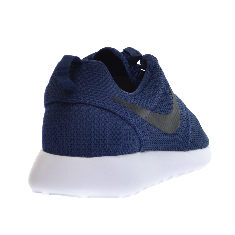 Nike Rosherun Men's schuhe Midnight Navy schwarz Weiß 511881 405 (11 D ... Zuverlässiger Ruf