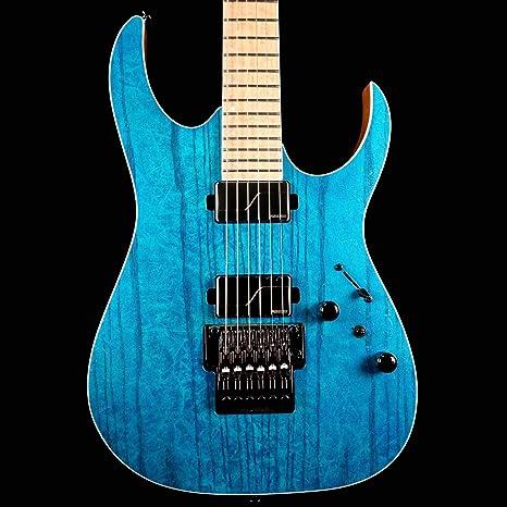 Ibanez RG Prestige RG5120M-FCN - Guitarra eléctrica (6 cuerdas, incluye funda)