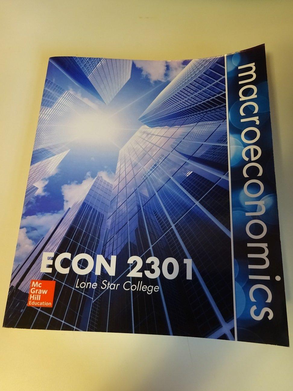 Macroeconomics econ 2301 mcgraw hill 9781259342776 amazon macroeconomics econ 2301 mcgraw hill 9781259342776 amazon books fandeluxe Images