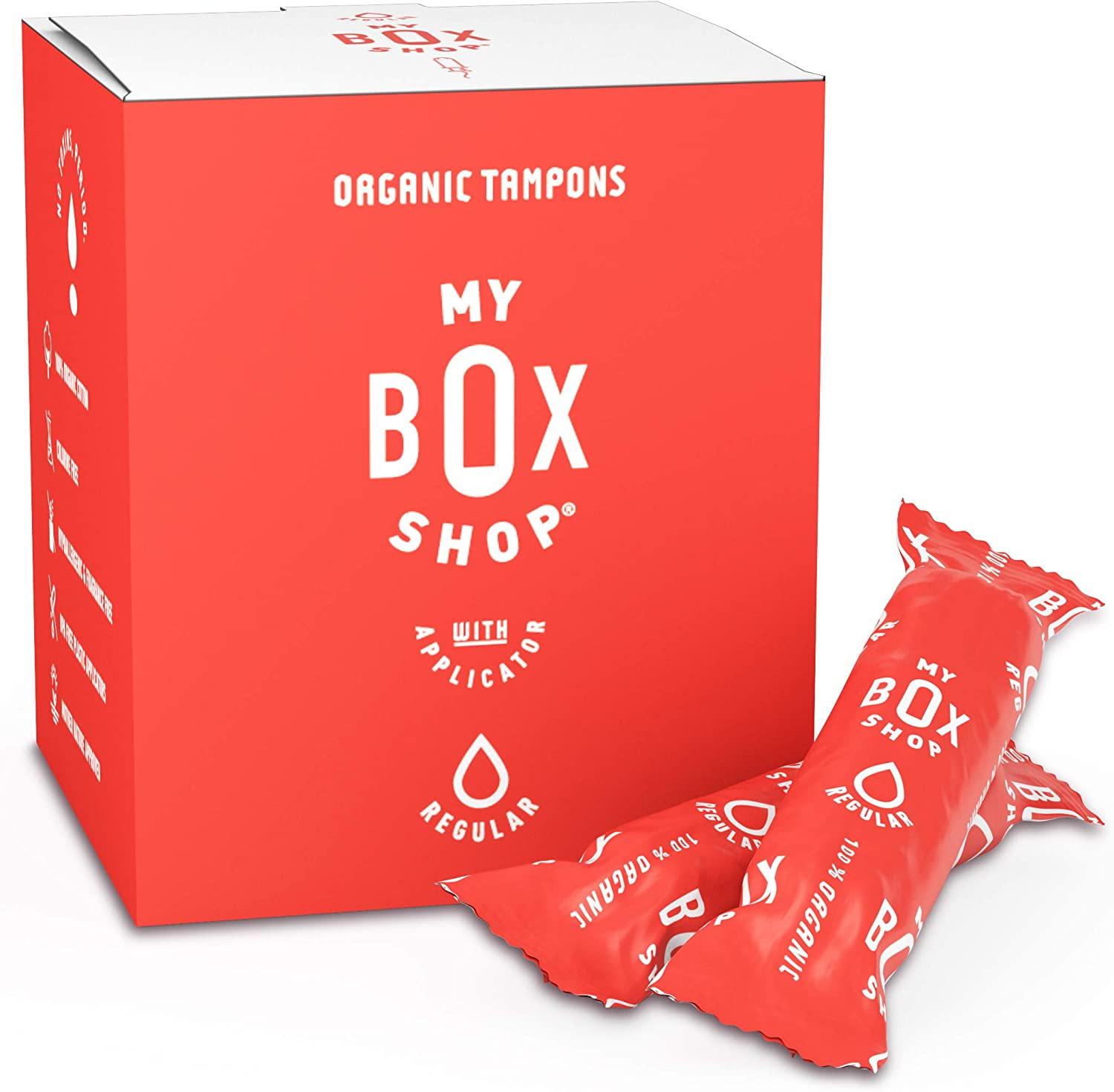 My Box Shop Organic Cotton Tampons