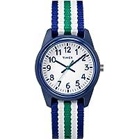 Timex Boys Time Machines Analog Elastic Fabric Strap Watch