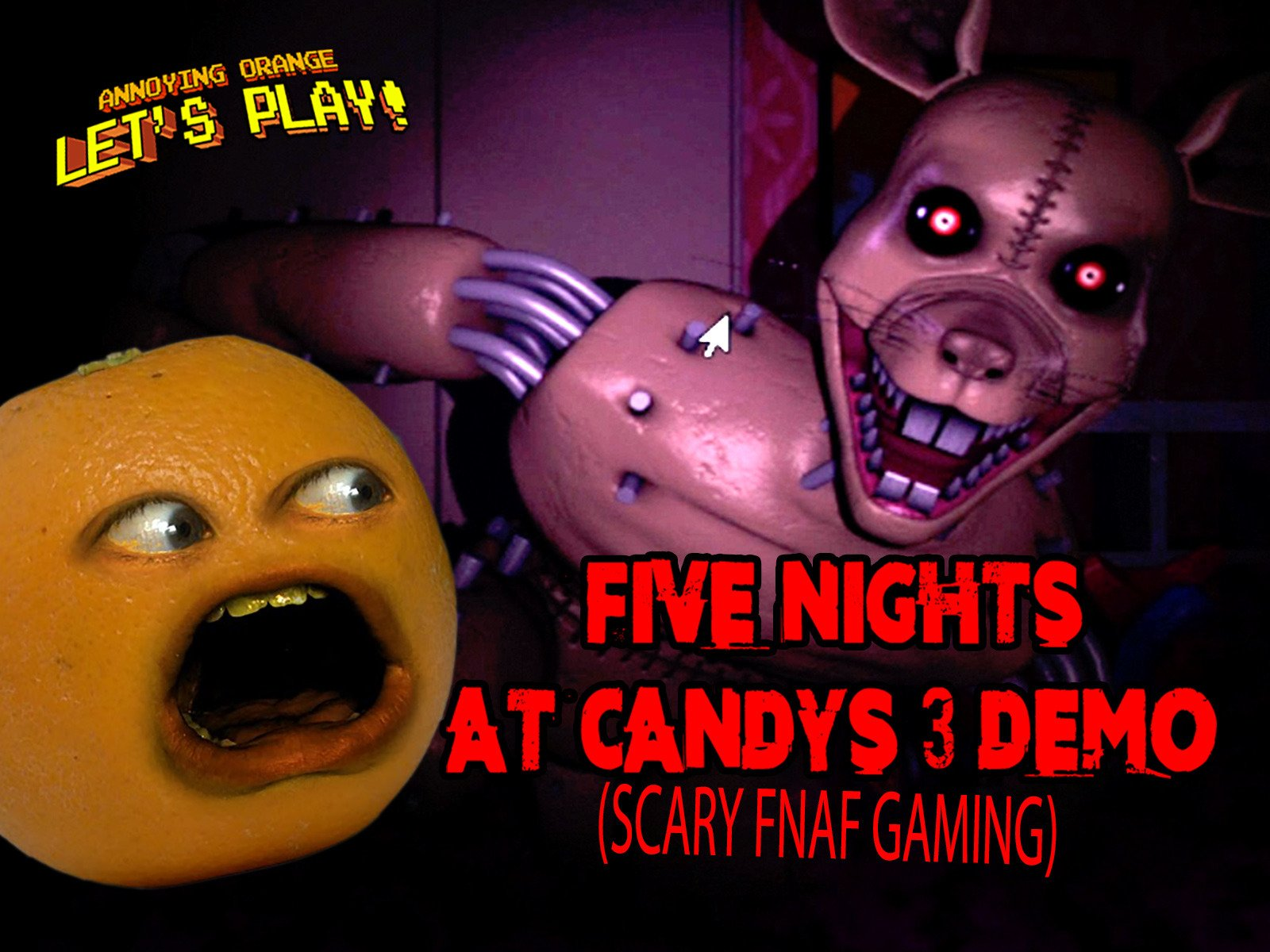 Watch Clip Annoying Orange Let S Play Five Nights At Candy S 3
