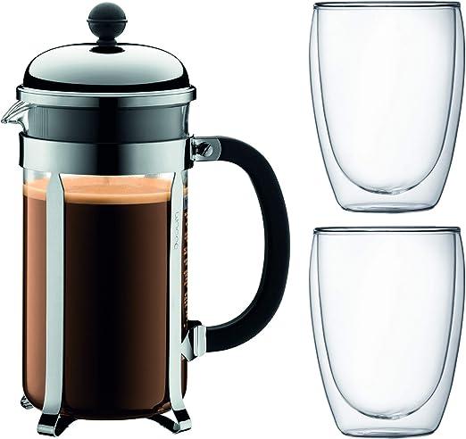 Bodum K1928 – 16 – 1 Set cafetera de pistón: Amazon.es: Hogar