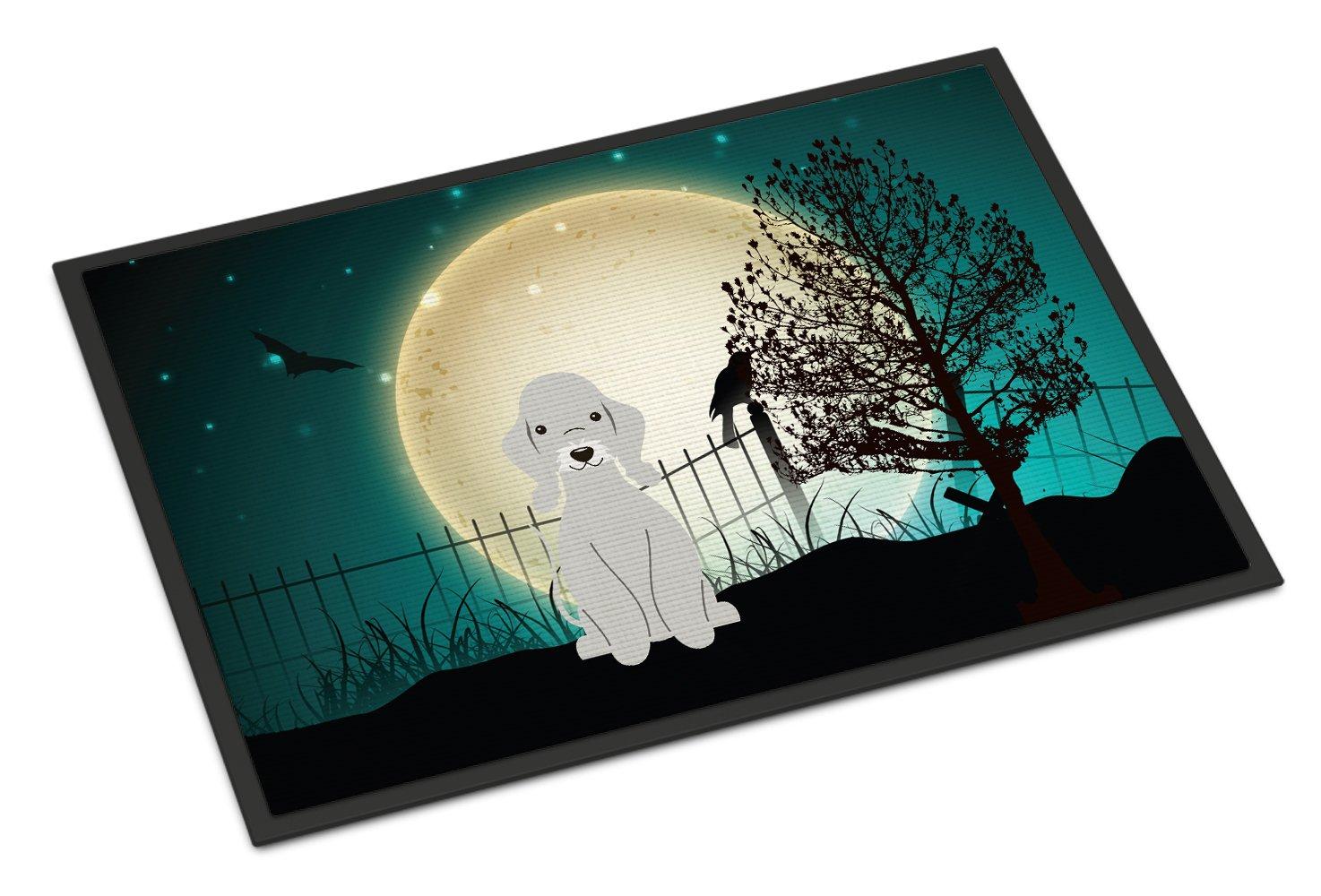Carolines Treasures Halloween Scary Bedlington Terrier Blue Indoor or Outdoor Mat 24x36 BB2280JMAT 24 x 36 Multicolor