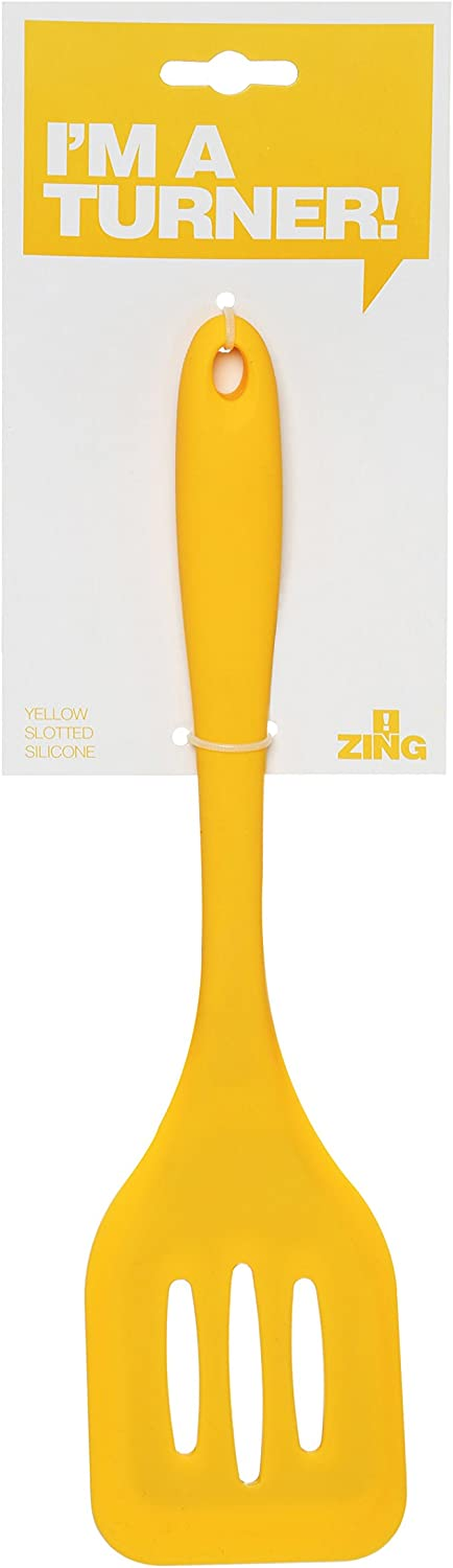 Premier Housewares Yellow Zing Silicone Slotted Turner