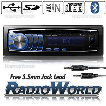 carsio Auto-Stereoanlage mit Bluetooth Radio CD-Player: Amazon.de ...