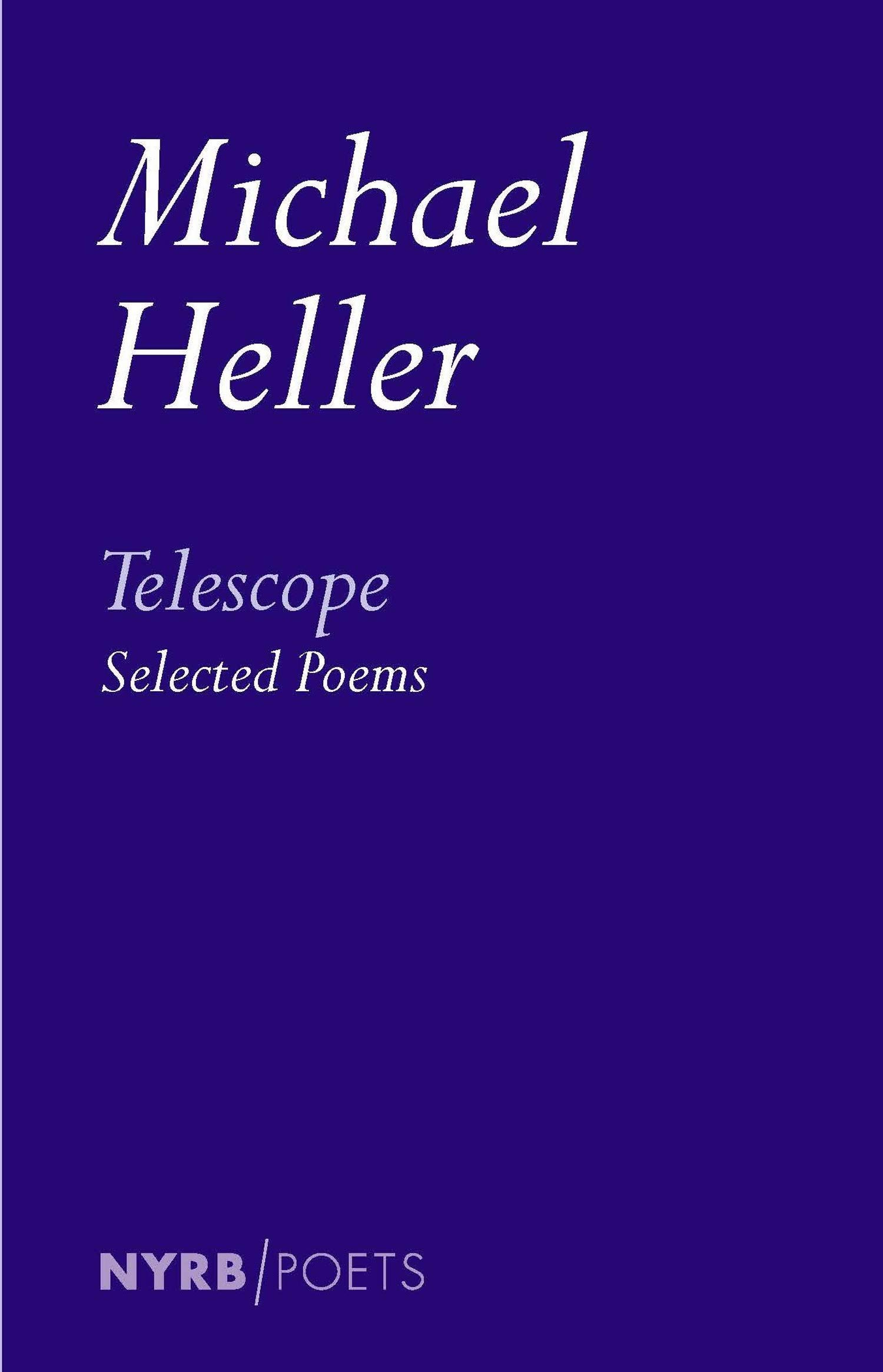 Telescope Selected Poems New York Review Books Classics