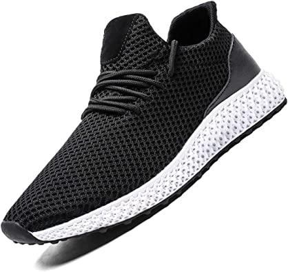 Mens Running Shoes Fashion Breathable Sneakers Casual Athletic Lightweight