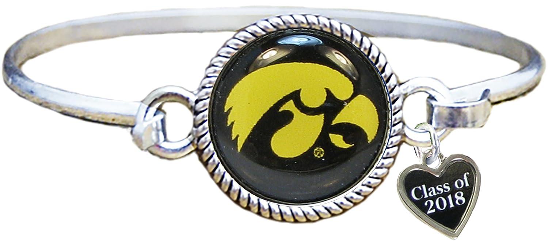 f5317f754f58a0 Amazon.com: Sports Accessory Store Custom Iowa Hawkeyes Choose Year Class  Of Graduation Alumni Bangle Bracelet Jewelry UI: Jewelry