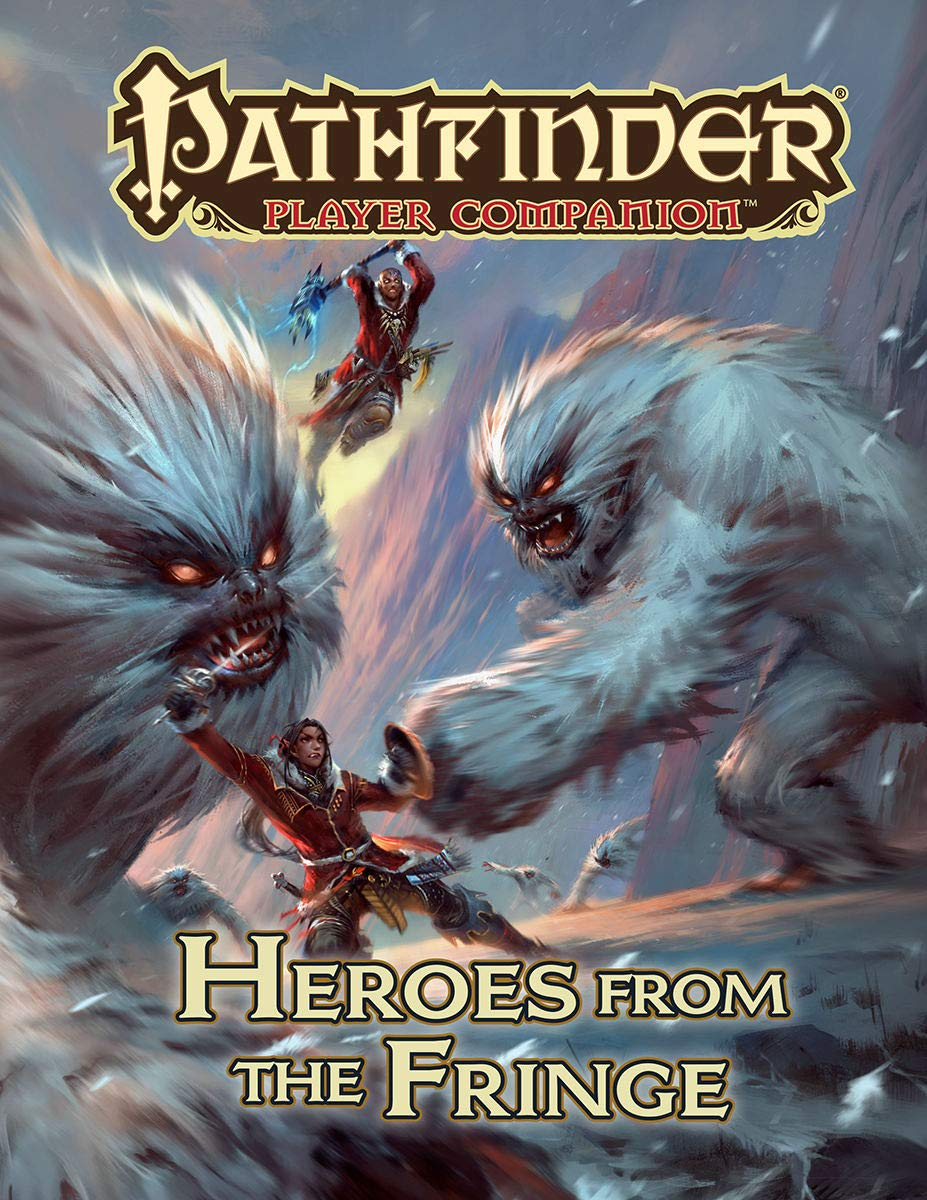 Pathfinder Player Companion: Heroes from the Fringe: Paizo Staff:  9781640780538: Amazon.com: Books