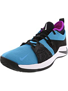 87e0097696bd Nike PG 2 Mens Fashion-Sneakers AJ2039-402 10.5 - Blue Lagoon