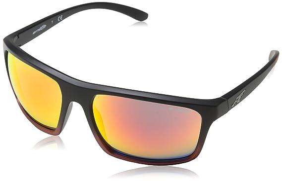 Arnette Sandbank Gafas de sol, Rectangulares, 61, Black Grad ...