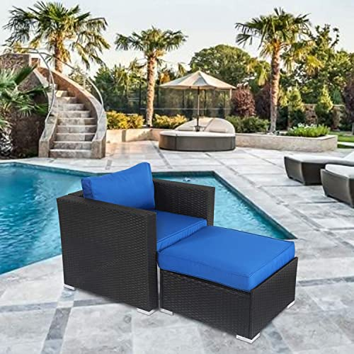 Kinbor Patio Sectional Sofa Chair