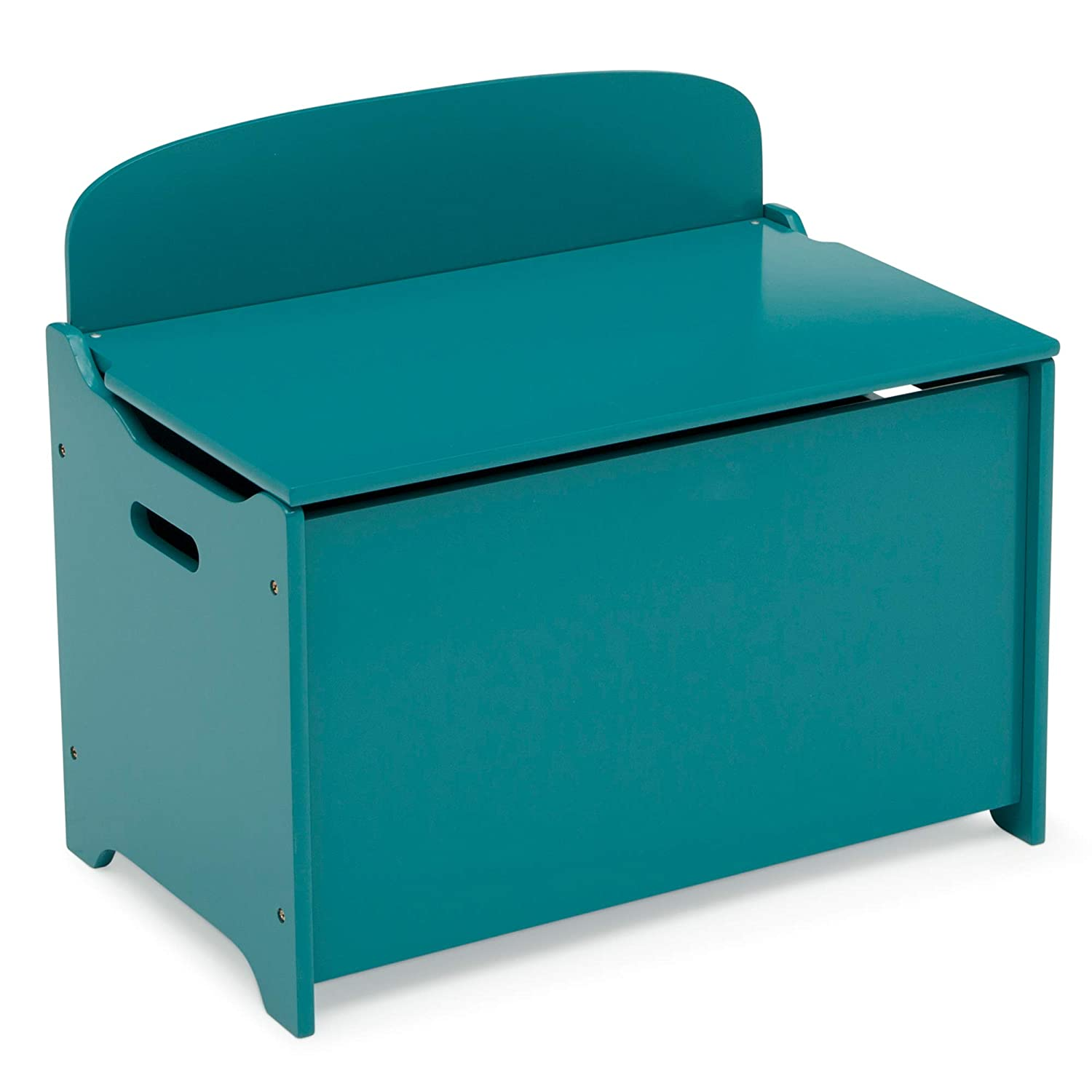 Delta Children MySize Deluxe Toy Box, Teal