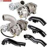 K04 RS4 Pair Turbo Kit With Turbocharger Gaskets & Inlet Pipes For Audi A6 S4 -