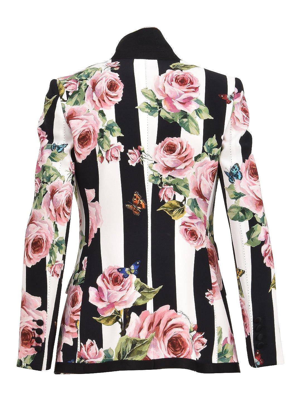Dolce & Gabbana Chaqueta de Traje - para Mujer Rosa Rosa 42: Amazon.es: Ropa y accesorios