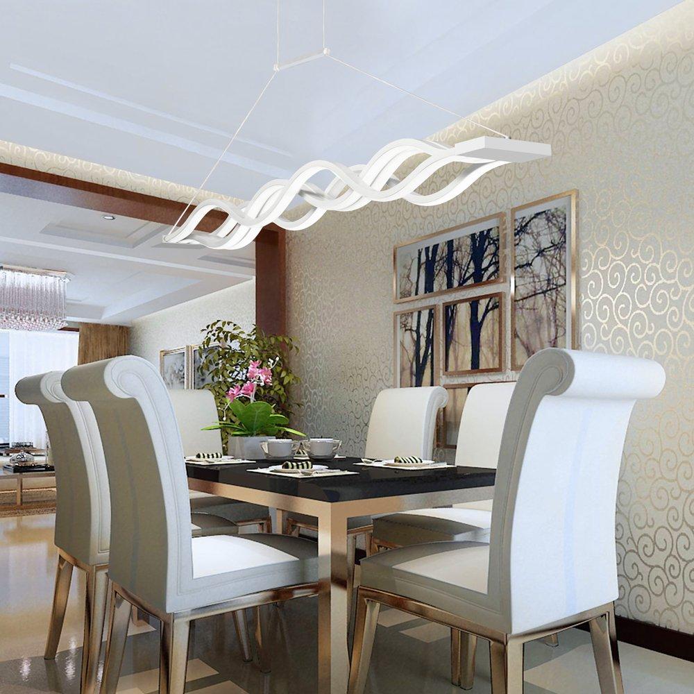 KJLARS LED Pendelleuchte esstisch Hängelampe Wohnzimmer Küche LED ...
