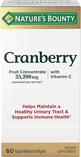 Geri Care Cranberry Pills 450MG 100Count Helps You Fight Off Urinary Tract Infections