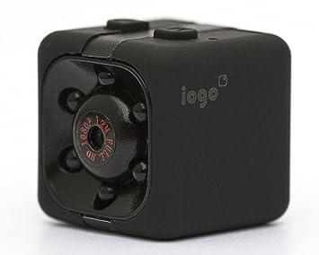 Amazon.com : Mini Spy Cam Hidden - iogo Pro 1080P Portable Small ...