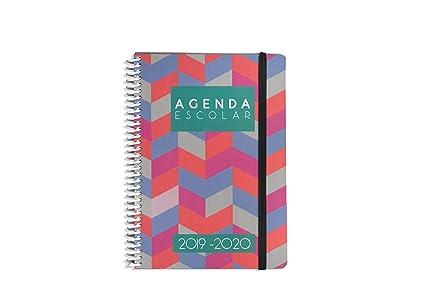 Agendas Escolar Capricho 2019-20 - Semana Vista - 15x21cm(A5 ...