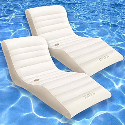 Amazon.com: Intex Wave - Lote de 2 flotadores hinchables ...