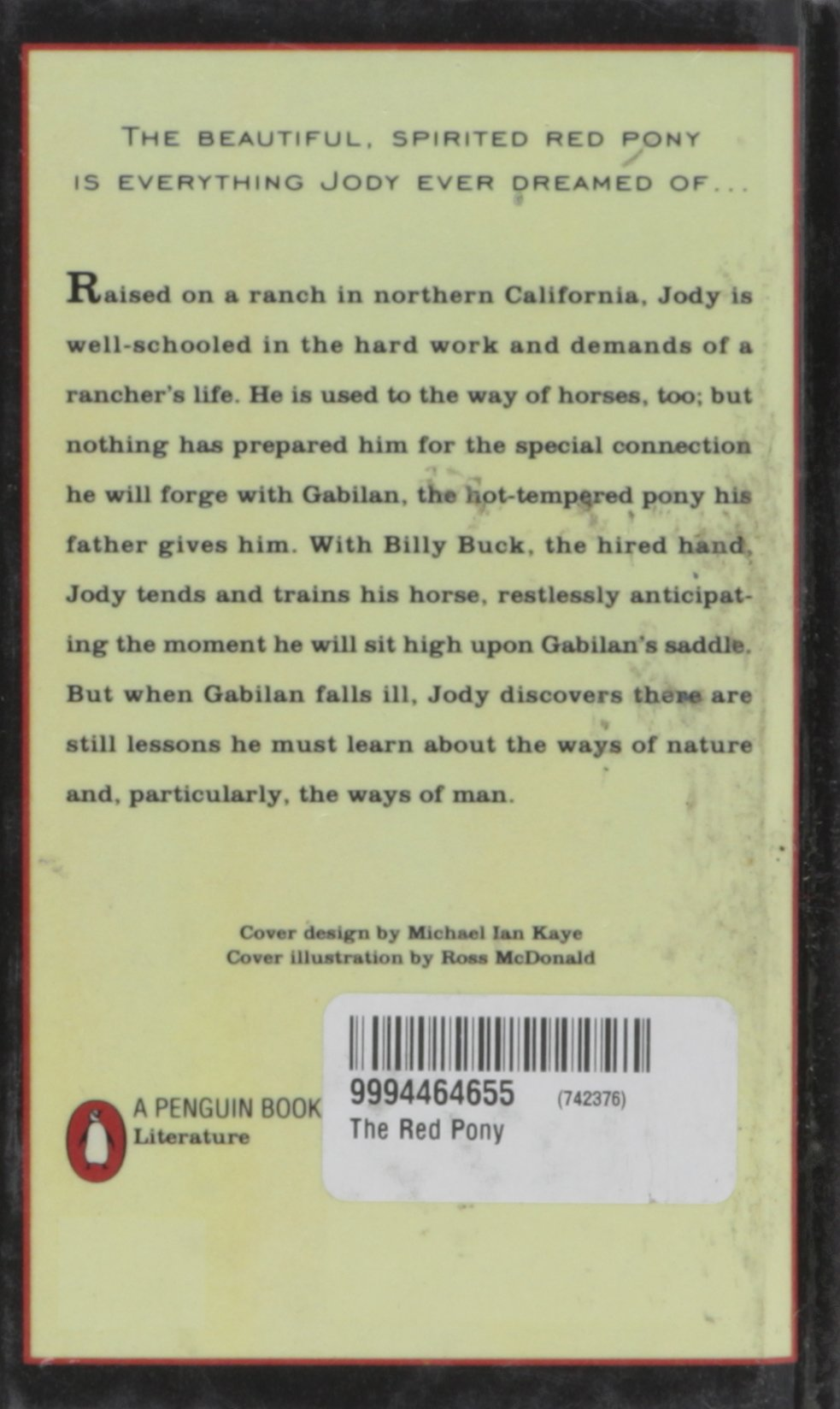 The Red Pony    John Steinbeck Limited preview