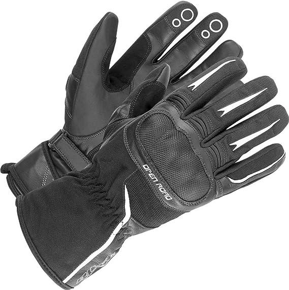 Schwarz 11 B/üse Handschuh Open Road Sport