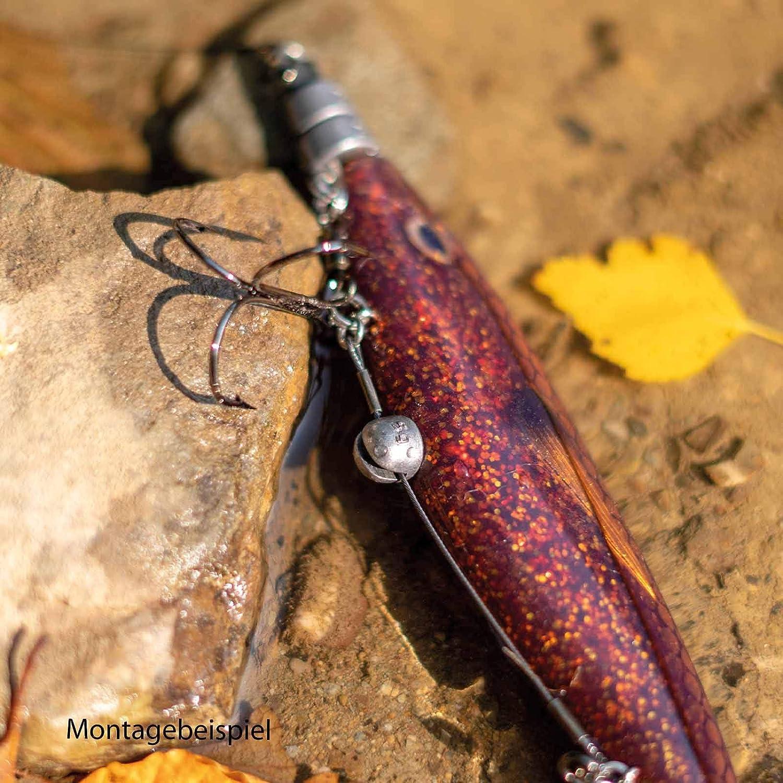BroxxLine 150 m Angelschnur Geflochten 0,08-0,30 mm Raubfisch Schnur Spinnfischen