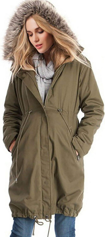 Arbres 3 in 1 Winter Maternity Parka Pregnancy Trench Coat