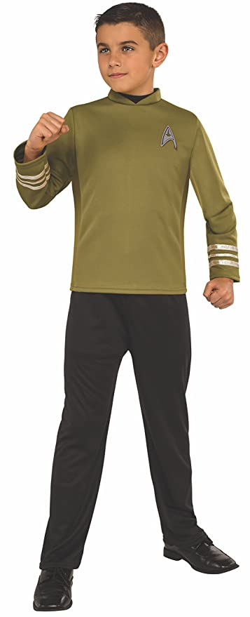 Rubieu0027s Costume Kids Star Trek Beyond Captain Kirk Costume Medium  sc 1 st  Amazon.com & Amazon.com: Rubieu0027s Costume Kids Star Trek: Beyond Captain Kirk ...